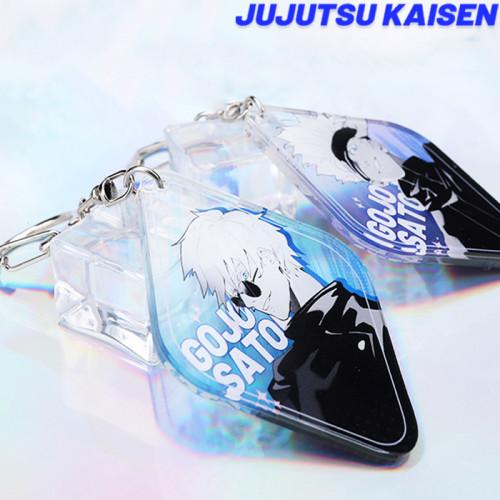 Anime Jujutsu Kaisen Gojo Satoru Yuji Itadori Geto Suguru Otsukotsu Yūta Keychain Pendants