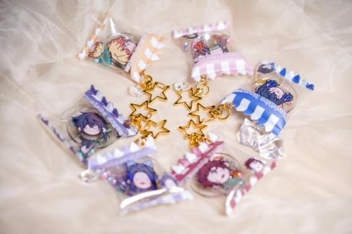 Anime Demon Slayer: Kimetsu No Yaiba Cute Candy Bag Shaped Keychain Pendants