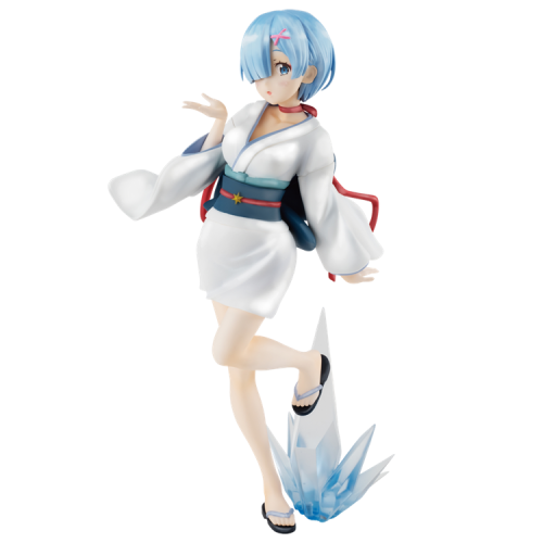 FuRyu Re: Zero−Starting Life in Another World SSS Rem Figure Fairy Tale Series Snow Girl Pearl Ver.