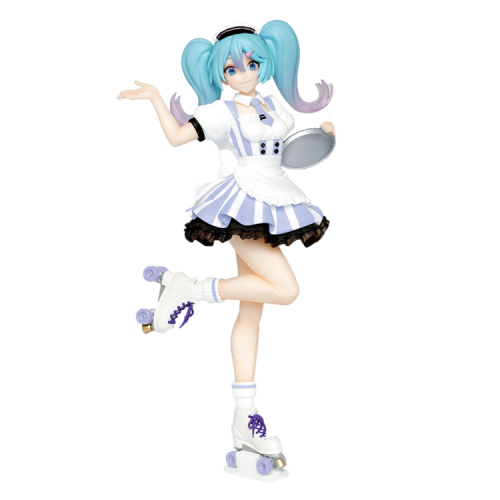 Taito Hatsune Miku Figure Costumes Cafe Maid Ver.