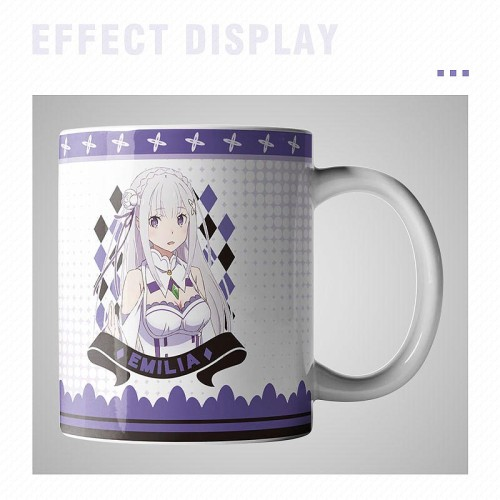 Anime Re: Zero - Starting Life in Another World Rem Emilia Print Cute Mugs