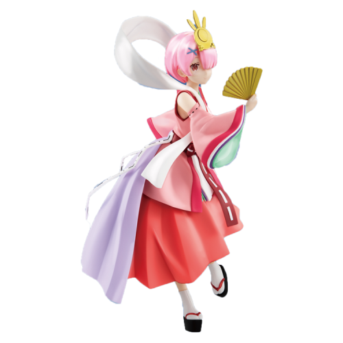 FuRyu Re: Zero−Starting Life in Another World SSS Ram Figure Fairy Tale Series Princess Kaguya Pearl Ver.