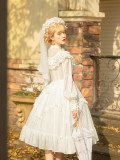 The Lady of Flower Wedding Style Tea Party Fairy Classic Lolita Dress