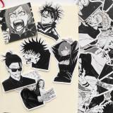 Anime Jujutsu Kaisen Gojo Satoru Nanami Kento Geto Suguru Yūji Itadori Stickers Decoration