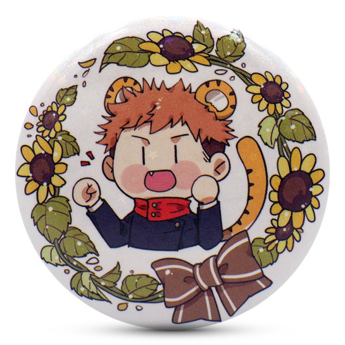 Anime Jujutsu Kaisen Kugisaki Nobara Inumaki Toge Nanami Kento Ryomen Sukuna Cute Badges Wreath Ver.