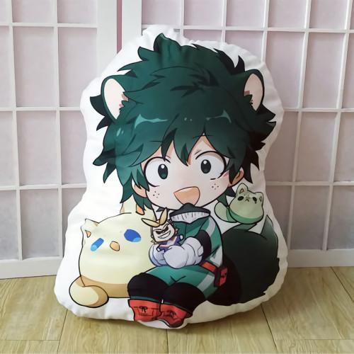 Anime My Hero Academia Midoriya Izuku Bakugou Katsuki Todoroki Shoto Asui Tsuyu Kirishima Eijirou Cute Pillow Cushions