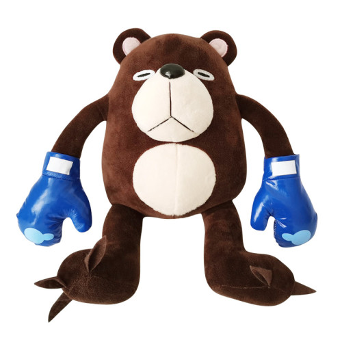 Anime Jujutsu Kaisen Tsukamoto Plush Doll Cursed Corpse Boxing Bear Stuffed Toy