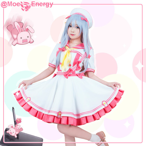 Anime Eromanga Sensei Izumi Sagiri Sailor Dress Outfit Cosplay Costume