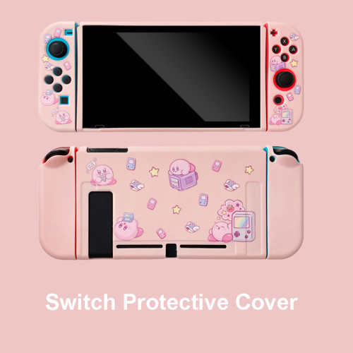Cute Kirby Switch Soft Pink Protective Cover