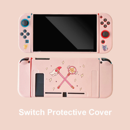 Anime Cardcaptor Sakura Switch Soft Pink Protective Cover
