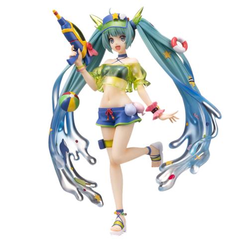 Sega Vocaloid Hatsune Miku Super Premium Figure Splash Parade Ver.