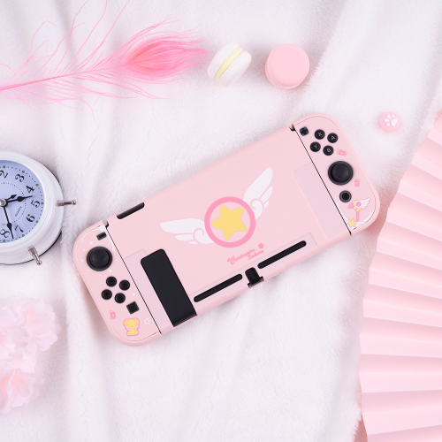 Anime Cardcaptor Sakura Cute Protective Case for Switch NS and Storage Bag Accessories