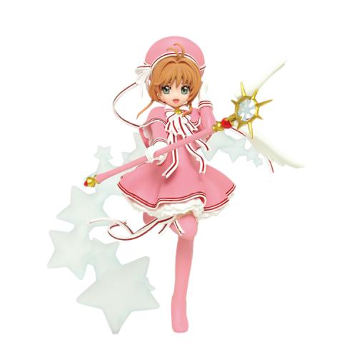 Taito Cardcaptor Sakura Kinomoto Sakura Scale Figure Clear Card Ver.