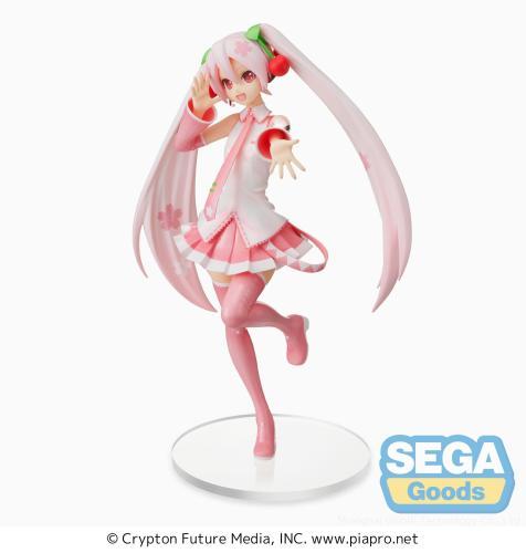 Pre-Order Sega Vocaloid Hatsune Miku Super Premium Figure Sakura Miku Ver.3