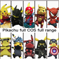 Pikachu cos total figure