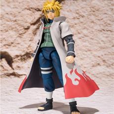 Naruto Hurricane Mugen Namikaze Minato figure models