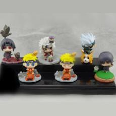 Naruto Psychic Ninja Wars Figures One set of six Figures