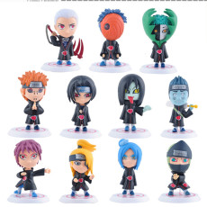 Naruto Akatsuki Figures Can be used as car decoration
