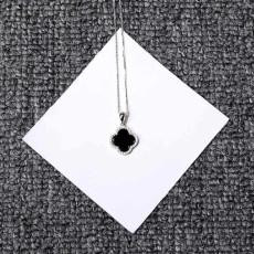 Four Leaf Clover Pendant S925 Clavicle Necklace