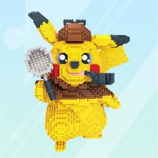 Pikachu Lego block intelligence development toy