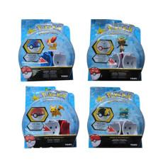 Pocket Monsters Pikachu Figure Set of six Pet Elf Ball