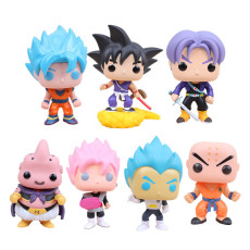 Dragon Ball Q Version Big Head Figure Resin Material Figure