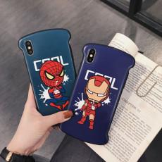 Marvel Avengers Iron Man Spider-Man Cell Phone Case
