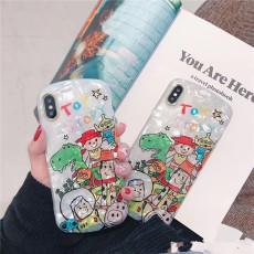 Cartoon Pattern TPU Material Cellphone Case