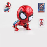 Marvel Avengers Spider-man Q Version Figure Car Decorations