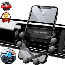 New car phone holder air outlet snap-type gravity navigation car bracket