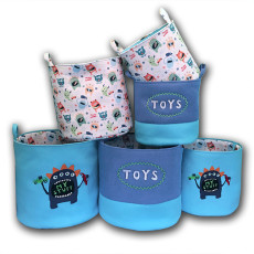 Childlike little monster toy sundries storage bucket - As Seen On TV