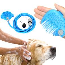 Pet bathing tool pet bathing device dog shower massage brush - As seen on TV