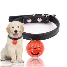 Pumpkin Bell Pet Collar Halloween Dog Cat Collar Pet products-As seen on TV