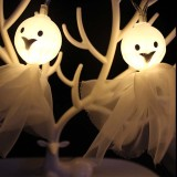20LED battery box ghost light string Halloween decoration atmosphere