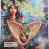 Halloween Elf ears cosplay props Avatar with the same latex Latex pointed ears