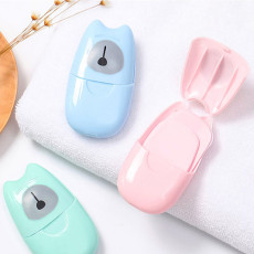 Portable Hand Wash Soap Paper Outdoor Disposable Mini Travel Goods--As seen on TV