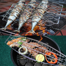 Outdoor barbecue accessories BBQ fish toast bread grill Camping Products