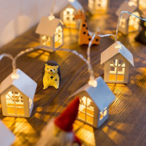 Christmas Lights 10 LED Chalet Light Strings
