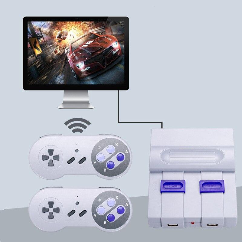 SUPER MINI SN-02 Retro Classic Video Game Console TV Game Player Built-in 821 Games