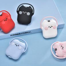 cartoon Smiling doll AirPods case Creative Apple Wireless Headphone Case