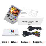 RG300 3 inch Video games Portable Retro console Retro Game Handheld Games Console Player 16G+32G 3000 games Tony system