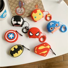 3D Marvel Spiderman Batman Apple Airpods pro Air pods 3 Silicone Earphone Headset case