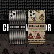 ins houndstooth iPhone case autumn and winter apple soft cover