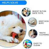 Dog Chew Toys for Aggressive Chewers Non-Toxic Food Grade Nylon Dog Bone Toy