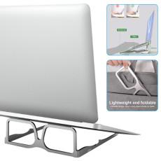 New Glasses Shape Laptop Stand Aluminum Alloy Foldable Laptop Riser Bracket