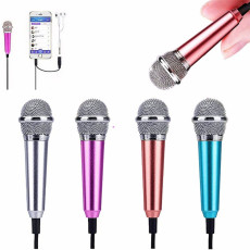 Mini Microphone Portable Vocal/Instrument with Holder Clip