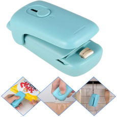 2 in 1 Handheld Mini Bag Heat Sealer Plastic Bags Package Food Chip Sealer