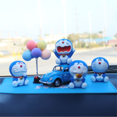 Cartoon Doraemon Car Ornaments Auto Interior Decorations Doll Toys Ornament Accessories