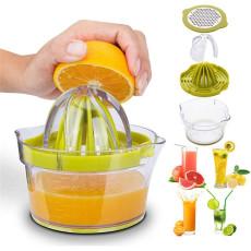 Lemon Orange Manual Juicer Hand Squeezer Anti-Slip Reamer Extraction Egg Separator