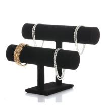 2 Tier Necklace Jewelry Bangle Bracelet Organizer Holder Display Stand